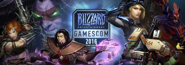 Le programme de Blizzard pour la Gamescom 2016