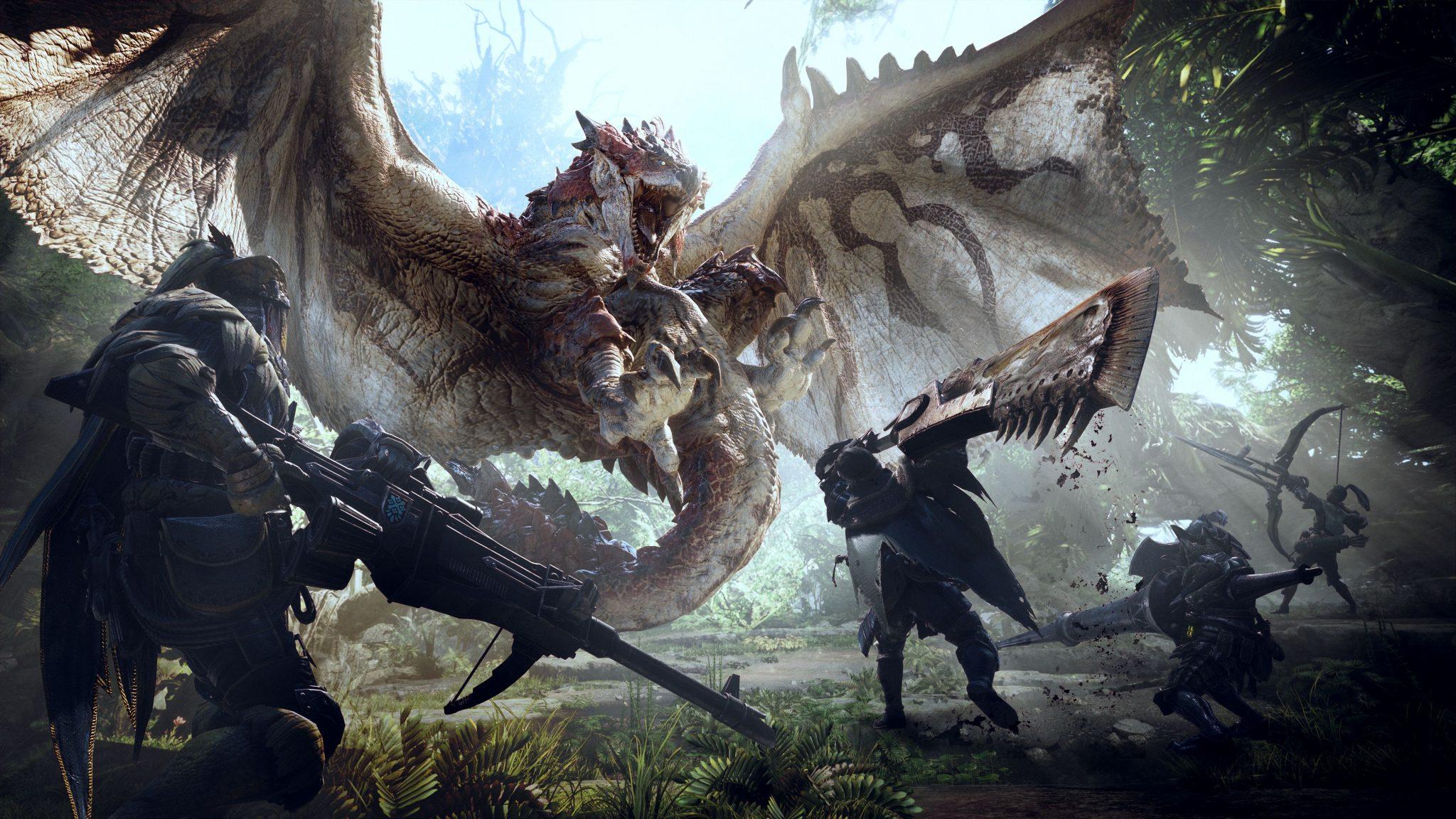 Monster Hunter World : La date de sortie PC avancée