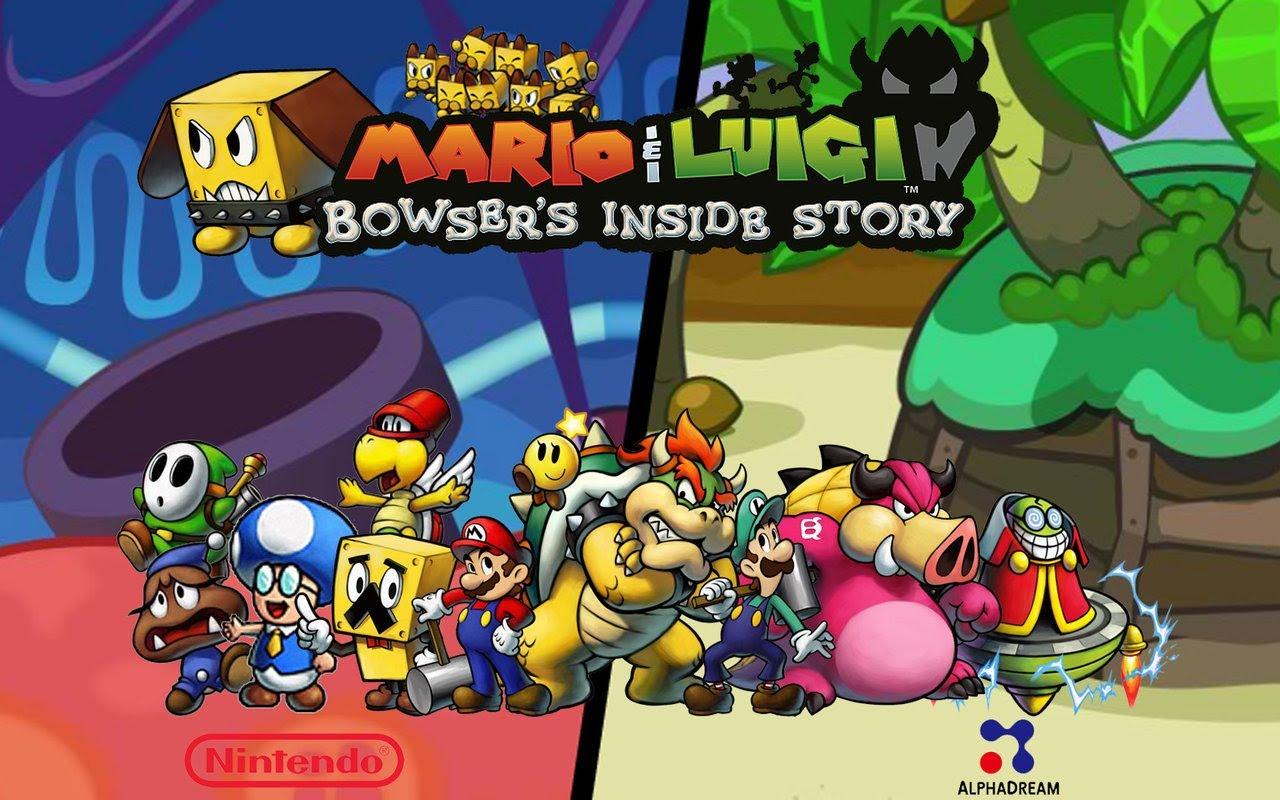 Mario et Luigi : Voyage au centre de Bowser aura le droit à un remastered