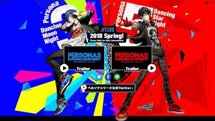 Atlus annonce Persona 3 : Dancing In the Moonlight et Persona 5 : Dancing In Starlight sur PS4 et PS Vita