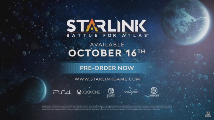 E3 2018 : Star Link : Battle For Atlas
